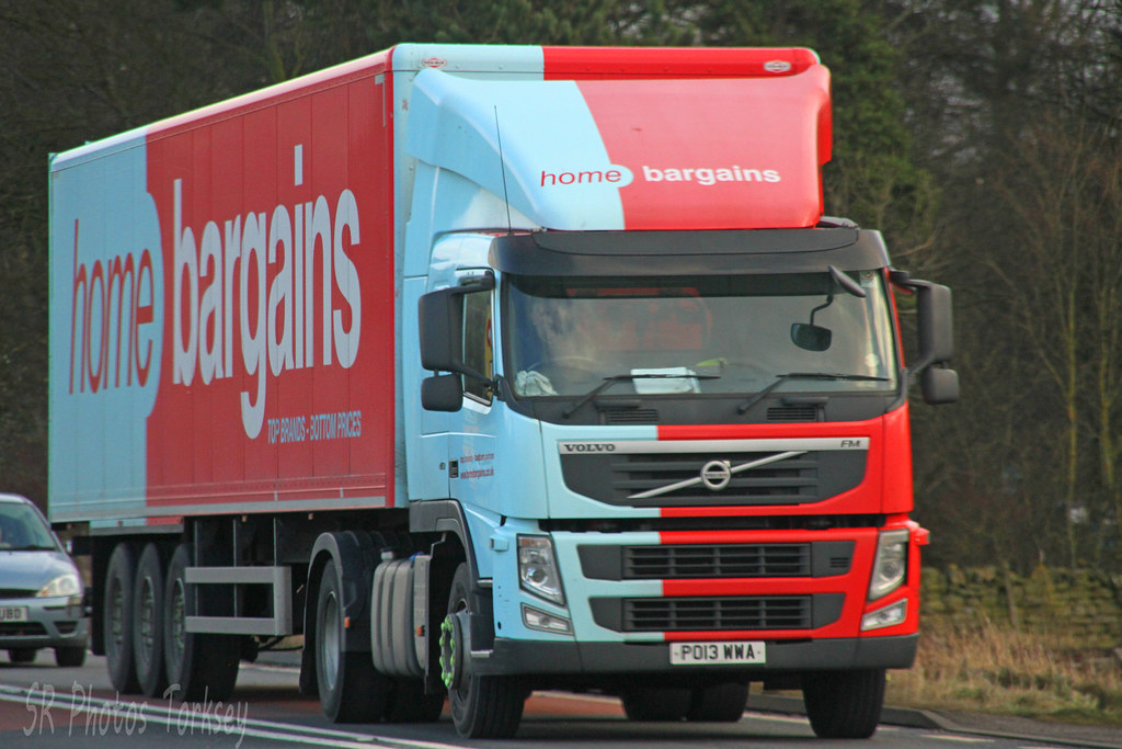 Home Bargains Lorry