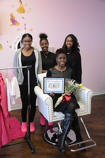 Ribbon Cutting - Mommy & Me Salon