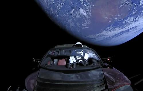 Starman et sa Tesla
