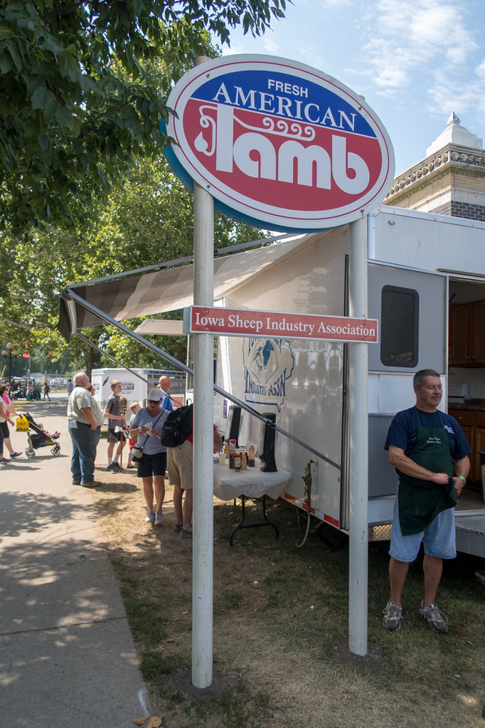Lamb Food Truck at Iowa State Fair