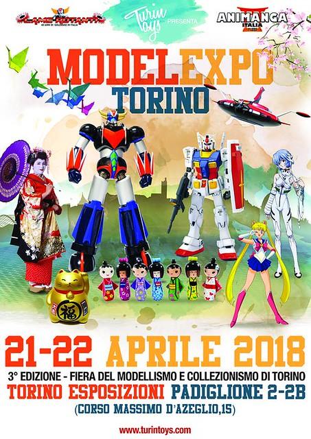 Model Expo Torino 2018: 3 edizione 21-22 aprile