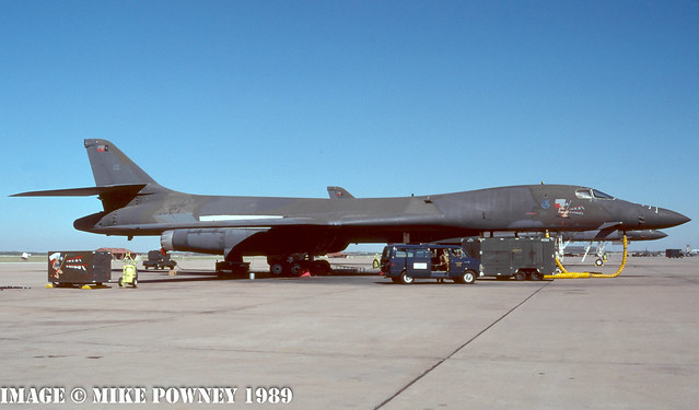 83-0067 - 1983 fiscal Rockwell B-1B Lancer, now preserved with the South Dakota Air & Space Museum at Ellsworth AFB, SD