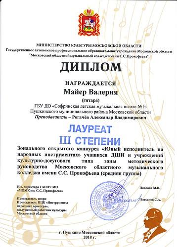 Диплом Майер В