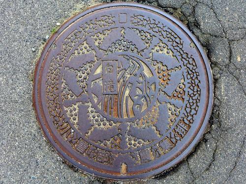 Shiojiri Nagano, manhole cover 5(長野県塩尻市小曽部のマンホール)
