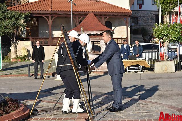 Atatürk'ün Alanya'ya gelişinin 83. yıl dönümü kutlandı-5