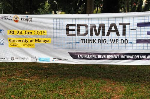 EDMAT-39 Opening Day, 21 Jan 2018
