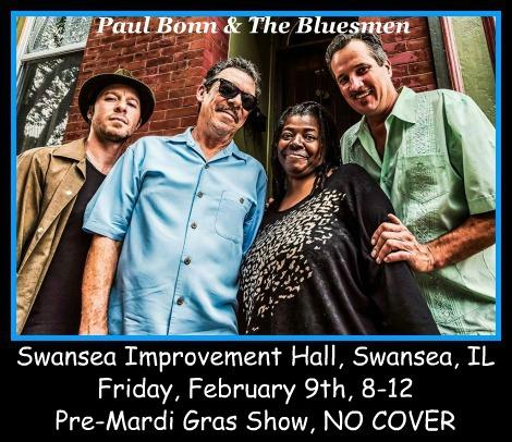 Paul Bonn & The Bluesmen 2-9-18