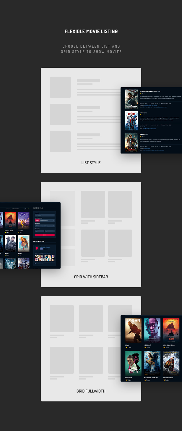 Blockter - Movie & TV Show database WordPress Theme