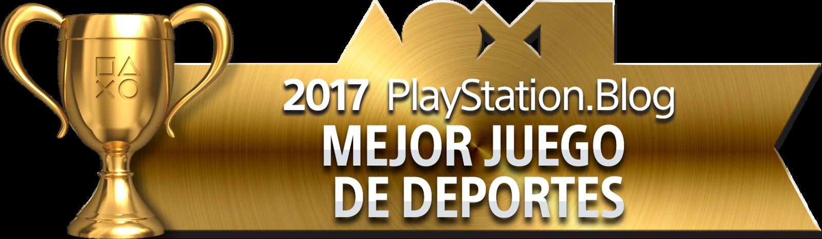 PlayStation Blog Game of the Year 2017 - Best Sports Game (Gold)