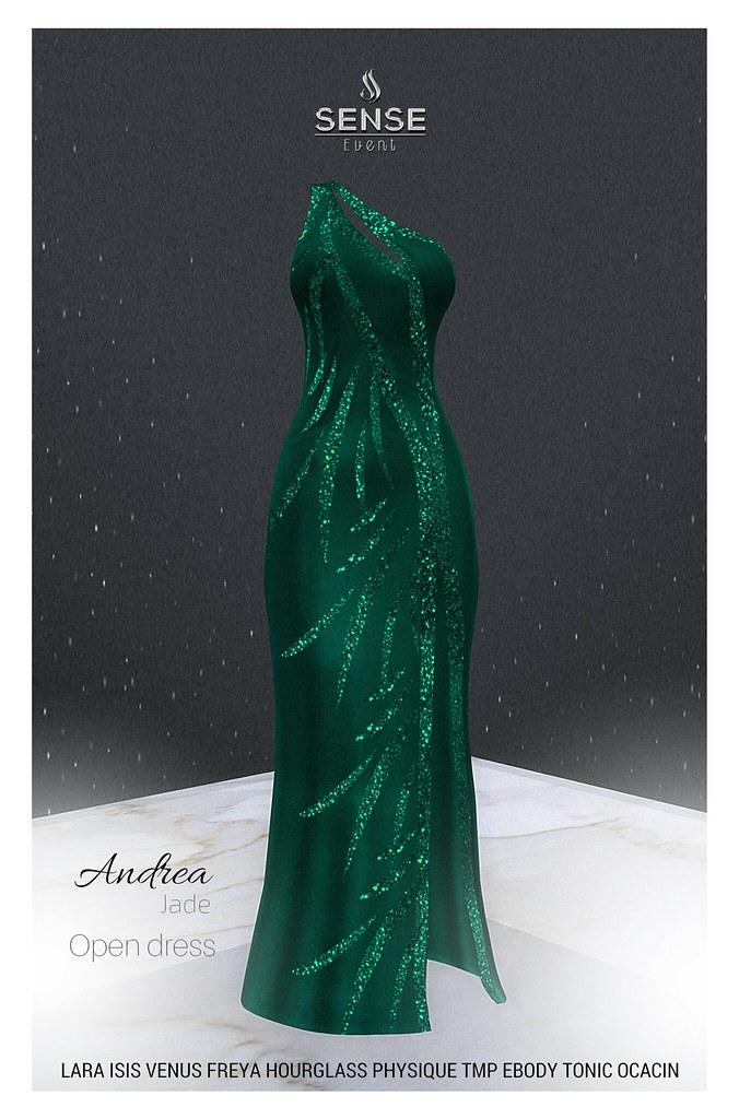 ::ALTER:: Andrea - Open dress / Jade - TeleportHub.com Live!