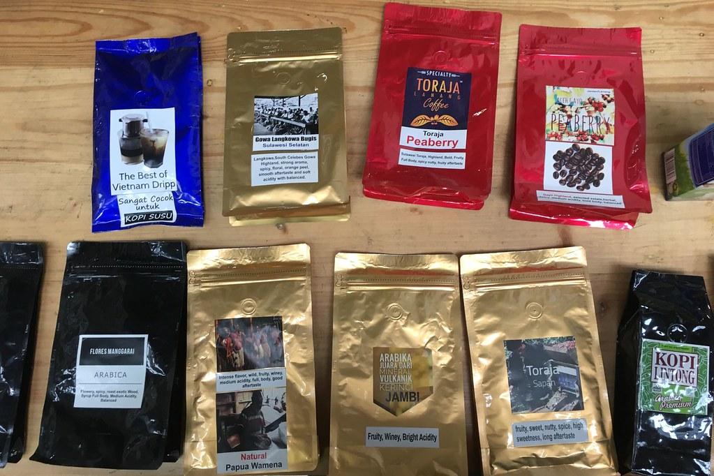 Variety of Coffee