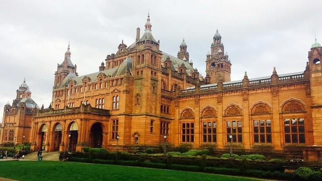 Kelvingrove Gallery visting Scotland