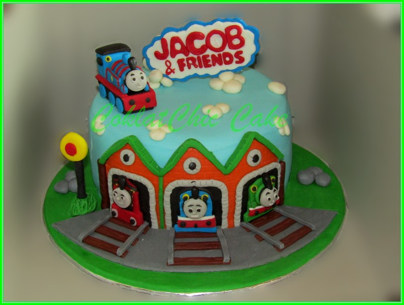Cake Thomas The Train JACOB 15cm
