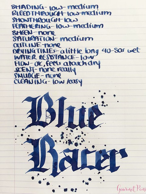 Ink Shot Review Bookbinders Blue Racer @AppelboomLaren 6