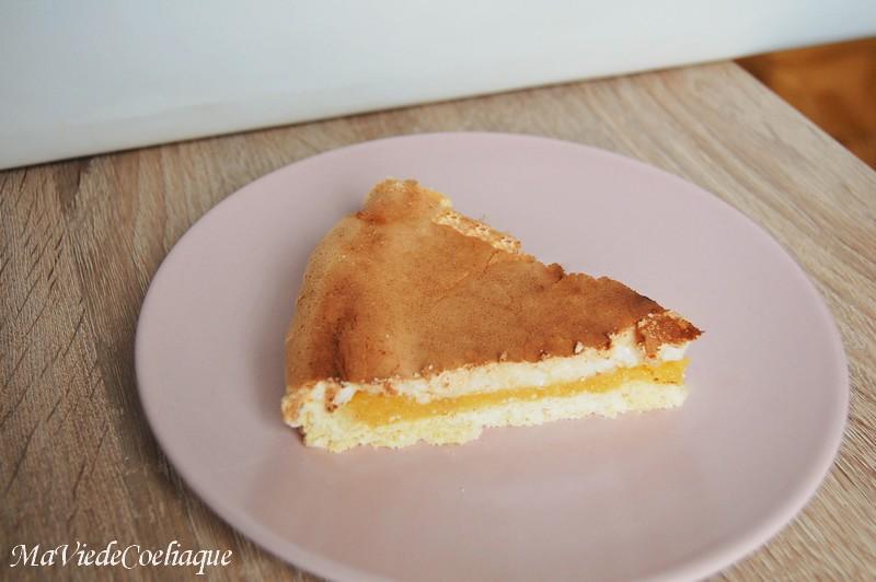 Tarte citron meringuée sans gluten sans lactose