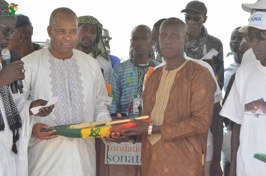 Inauguration d'infrastructures  de base à Mbakhna Par la Fondation SONATEL (85)