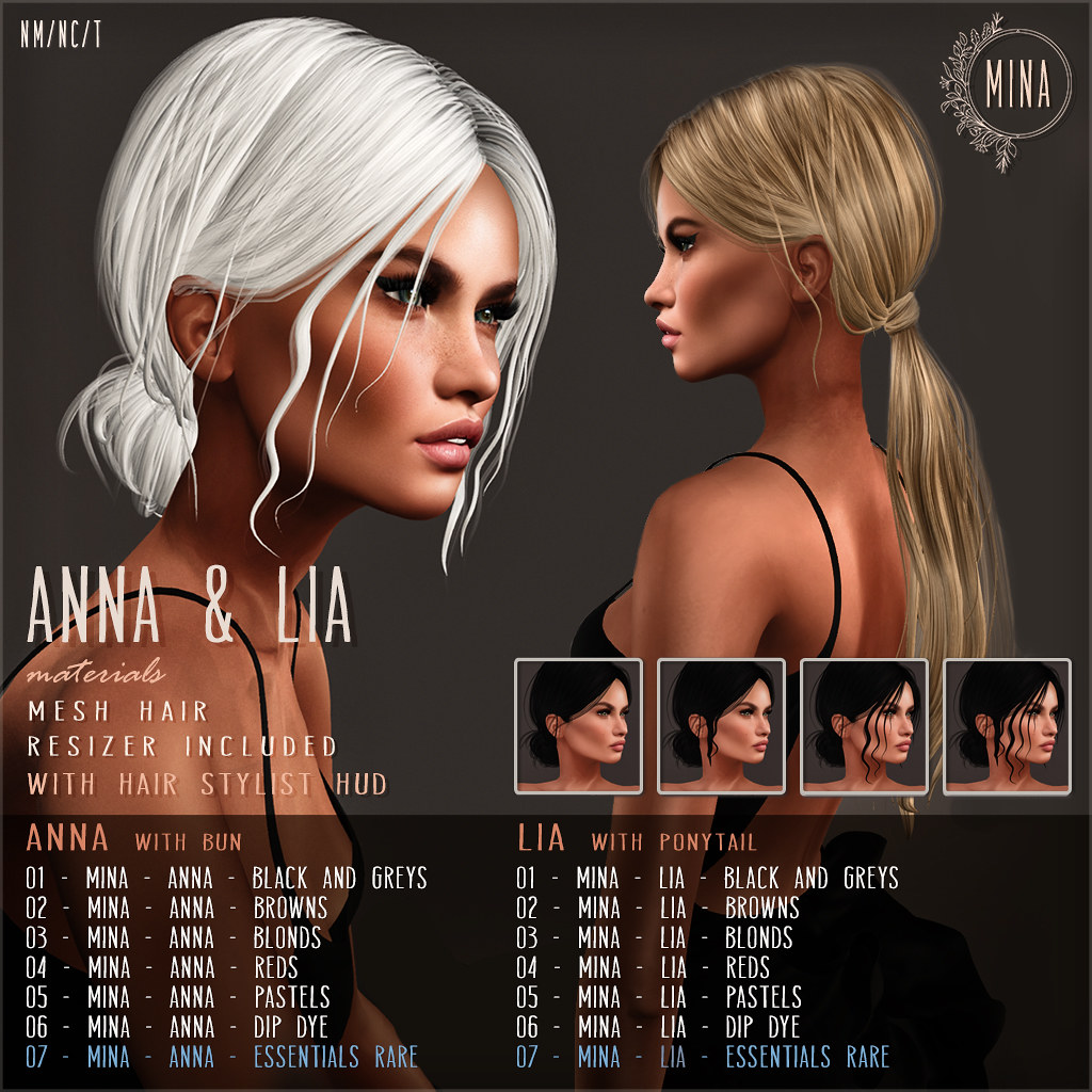 MINA – Anna & Lia – for PocketGacha