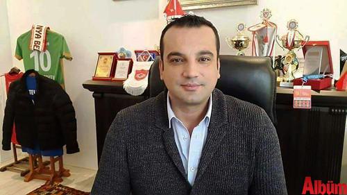 Belediyespor Kulüp Başkanı Mehmet Erken