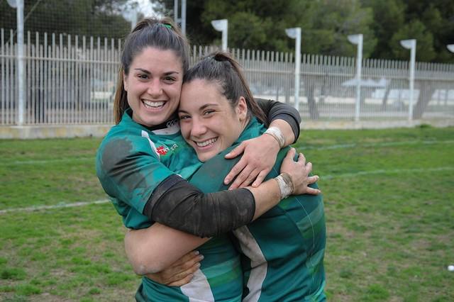 8ª Jornada Lliga Iberdrola Rugby INEF L'Hospitalet vs Olímpico Pozuelo 2017-2018 (Parte 2)