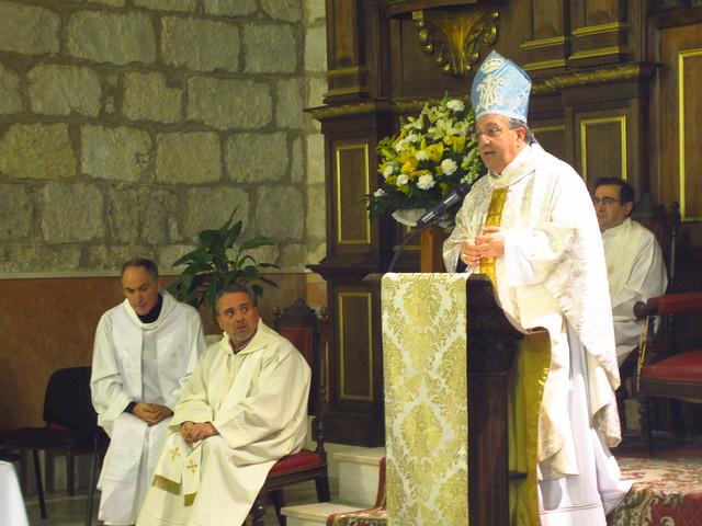 Despedida Obispo en Baza 10-2-2018