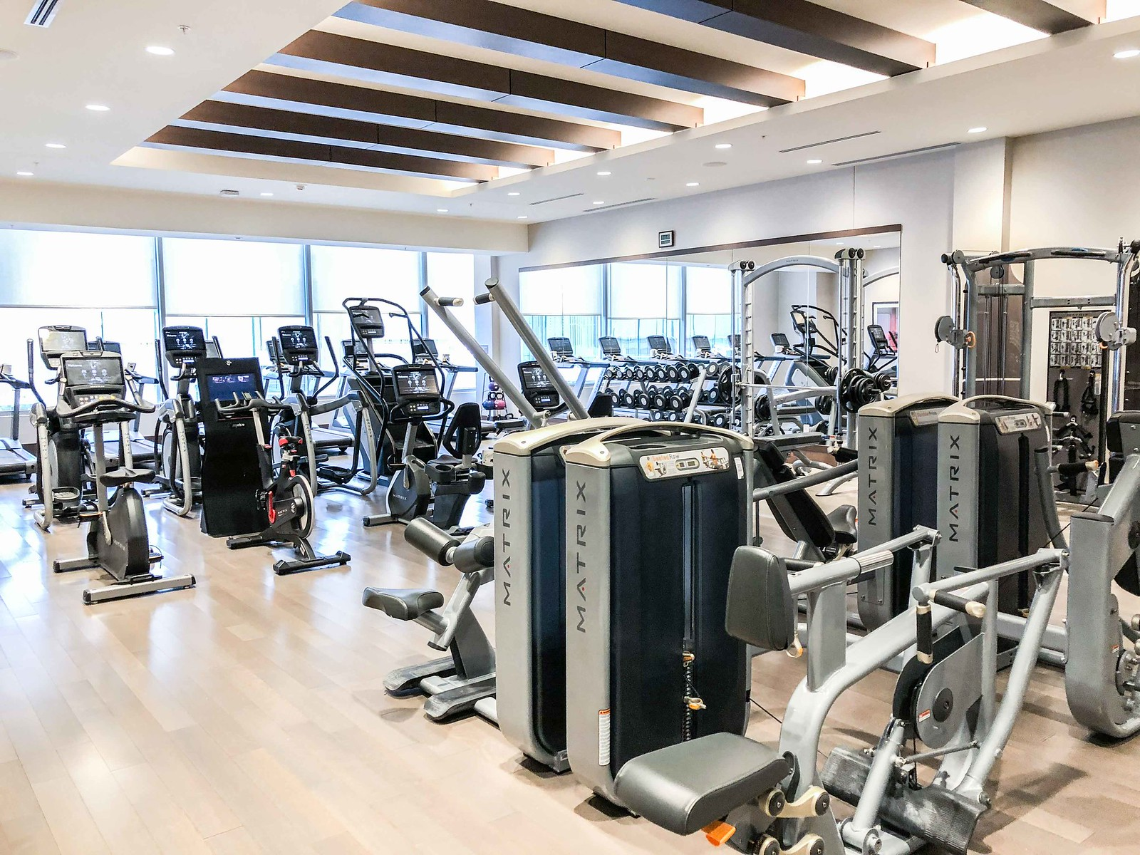 jw Marriott Minneapolis fitness center