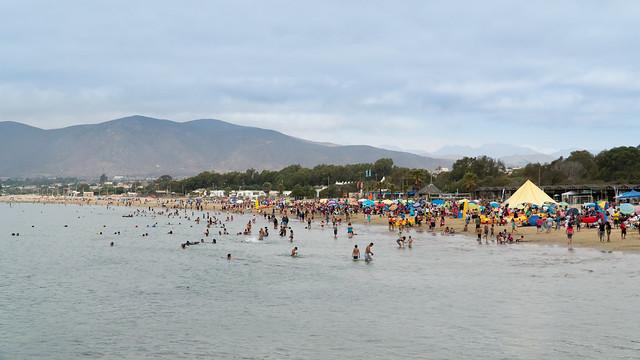 Strand in Guanaquero