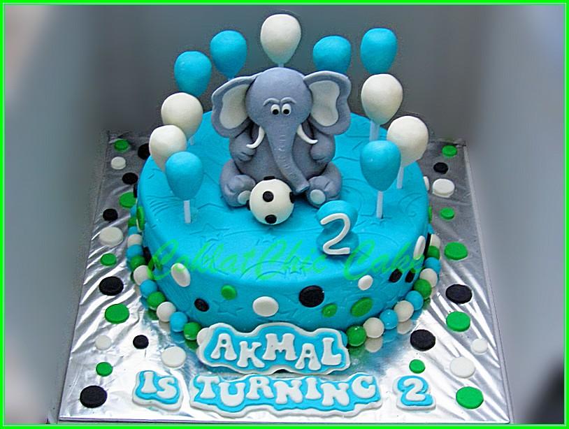 Cake Gajah AKMAL 20 cm