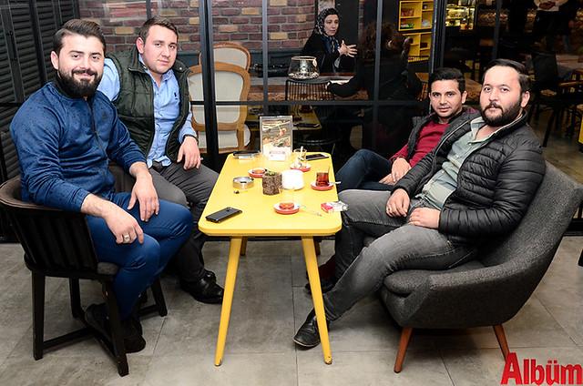 Murat Ceviz, Ahmet Tattır, Ali Gök, Rıza Akdağ