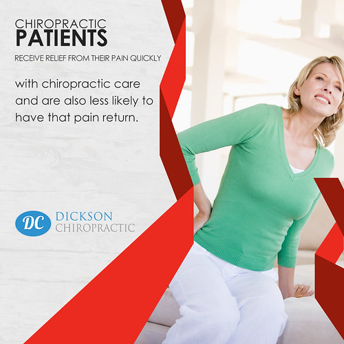 A soothing pain relief for chiropractic patients