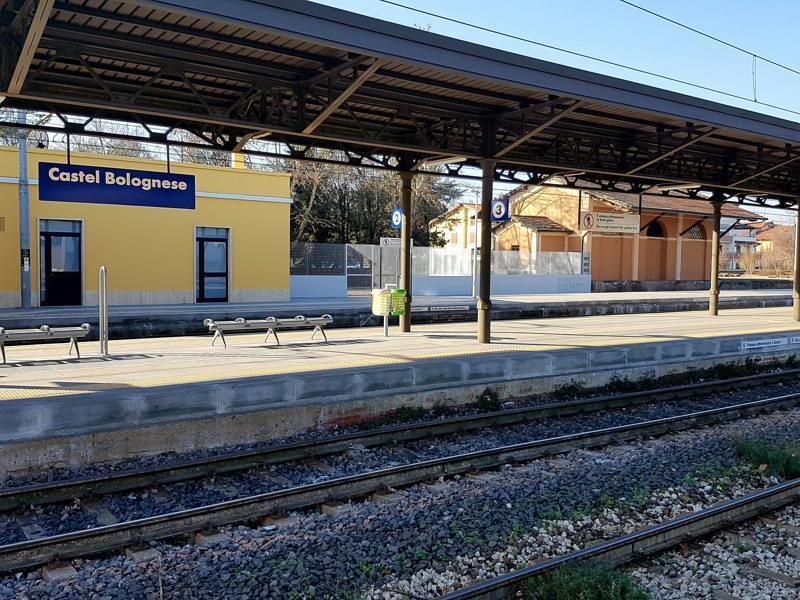 Castel Bolognese: Stazione ferroviaria rinnovata, accessibile e connessa
