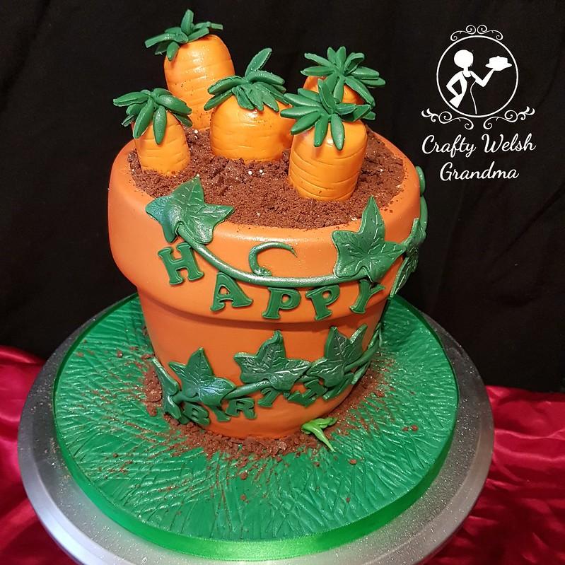 Admirable Crafty Welsh Grandma Carrot Cake Plant Pot Funny Birthday Cards Online Inifodamsfinfo