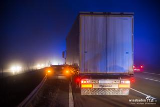 Verkehrsunfall A3 Medenbach 27.01.18