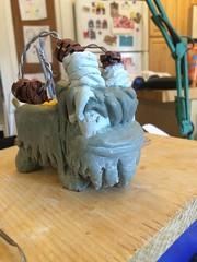 Banta sculpture process