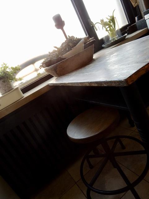 Kruk keukentafel
