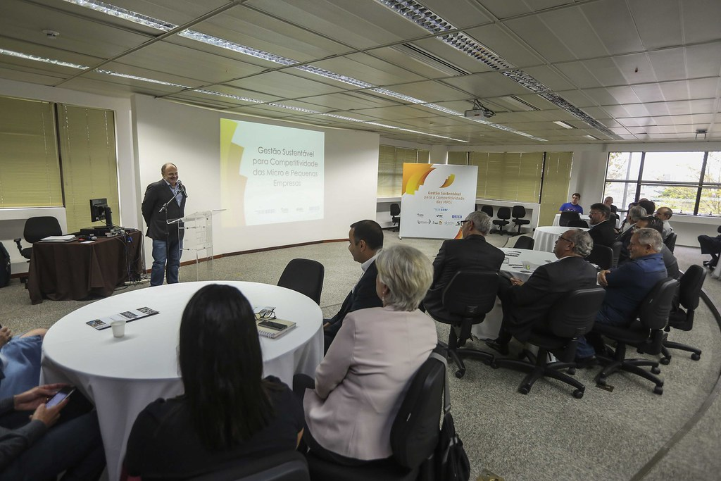 Solenidade de encerramento do projeto Gestão da Sustentabilidade para Competitividade das Micro e Pequenas Empresas