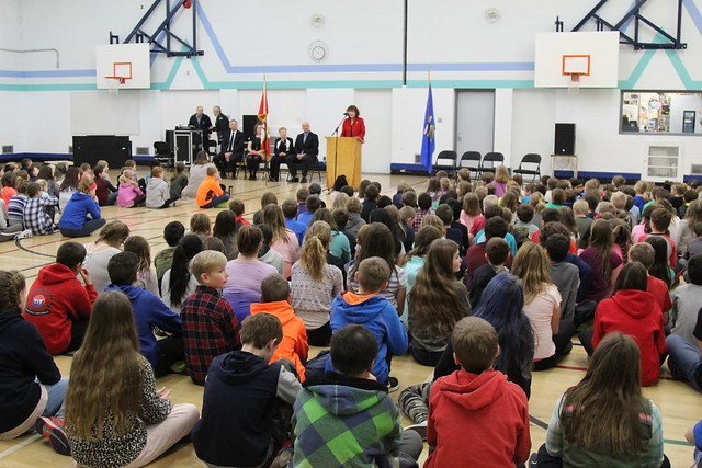 Westlock Elementary Family Literacy Day 2018