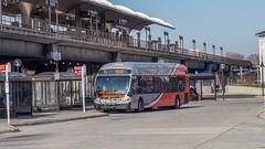 WMATA Metrobus 2014 NABI 42 BRT Hybrid #8001