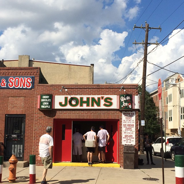 John's Water Ice - Philadelphia Pennsylvania Retro Roadmap 2017