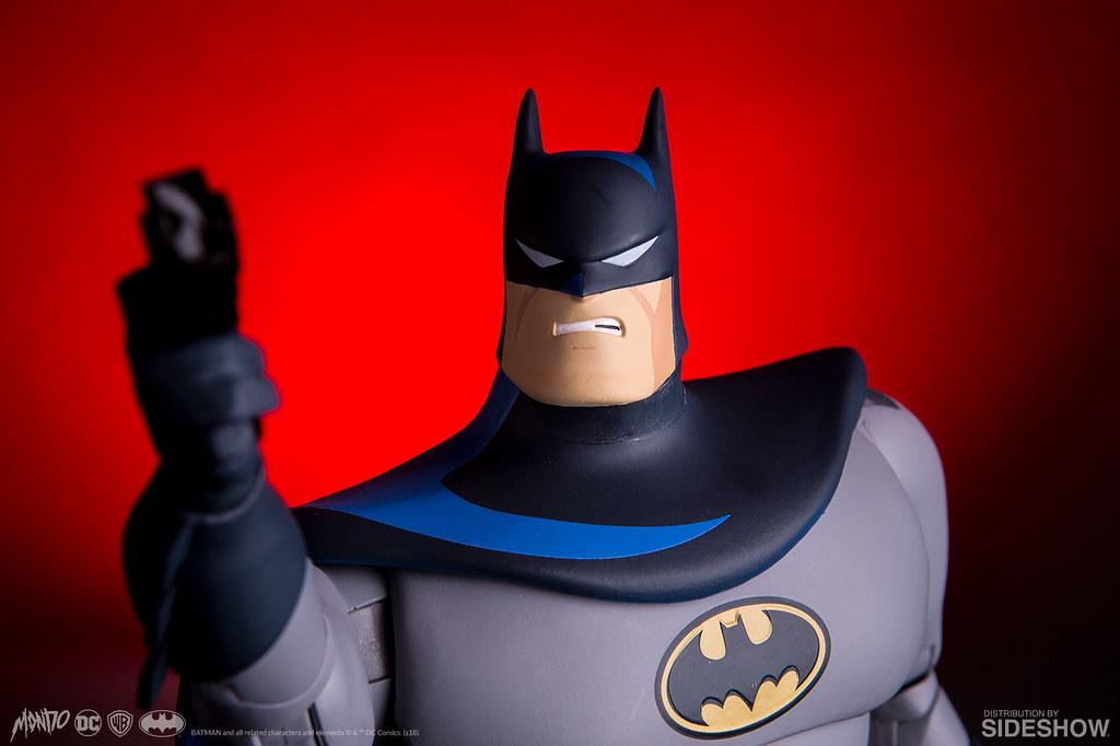 經典形象懷念登場!! MONDO《蝙蝠俠:動畫系列》蝙蝠俠 Batman: The Animated Series Batman 1/6 比例人偶作品