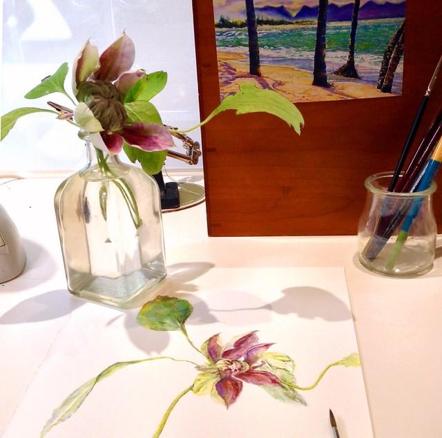 Plant Study © 2017 Lindy B. Pollak