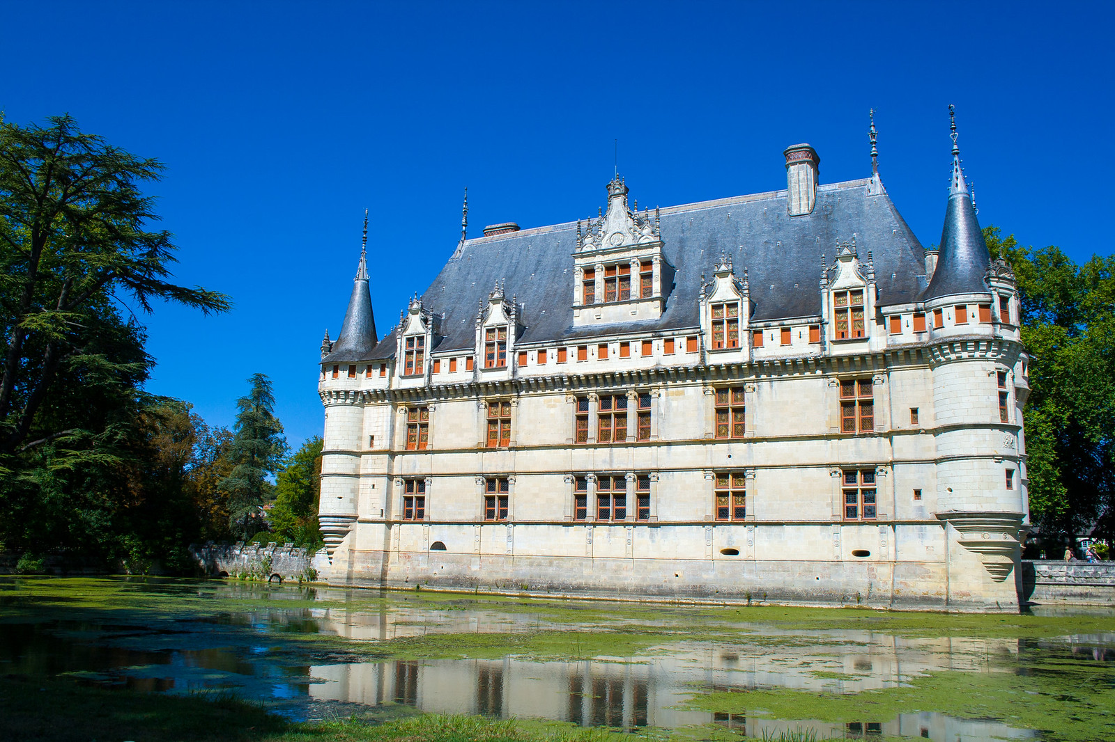 Zamek Azay-le-Rideau