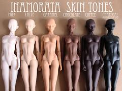 For Sale: Inamorata Dolls in 6 Skin Tones