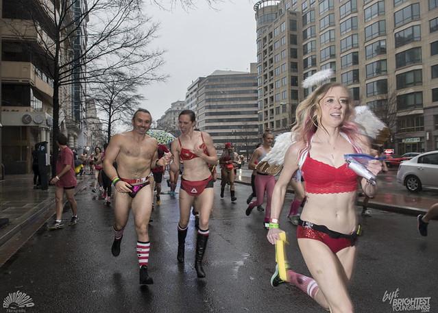 Cupid's Undie Run 2018