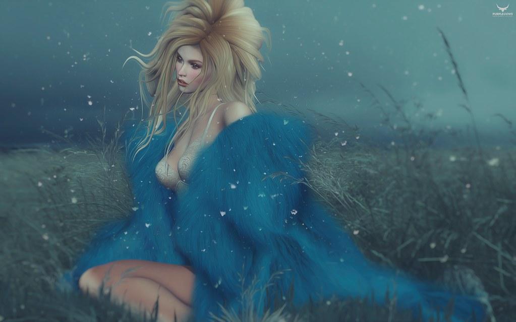 Miranda~Such a blue blue winter....