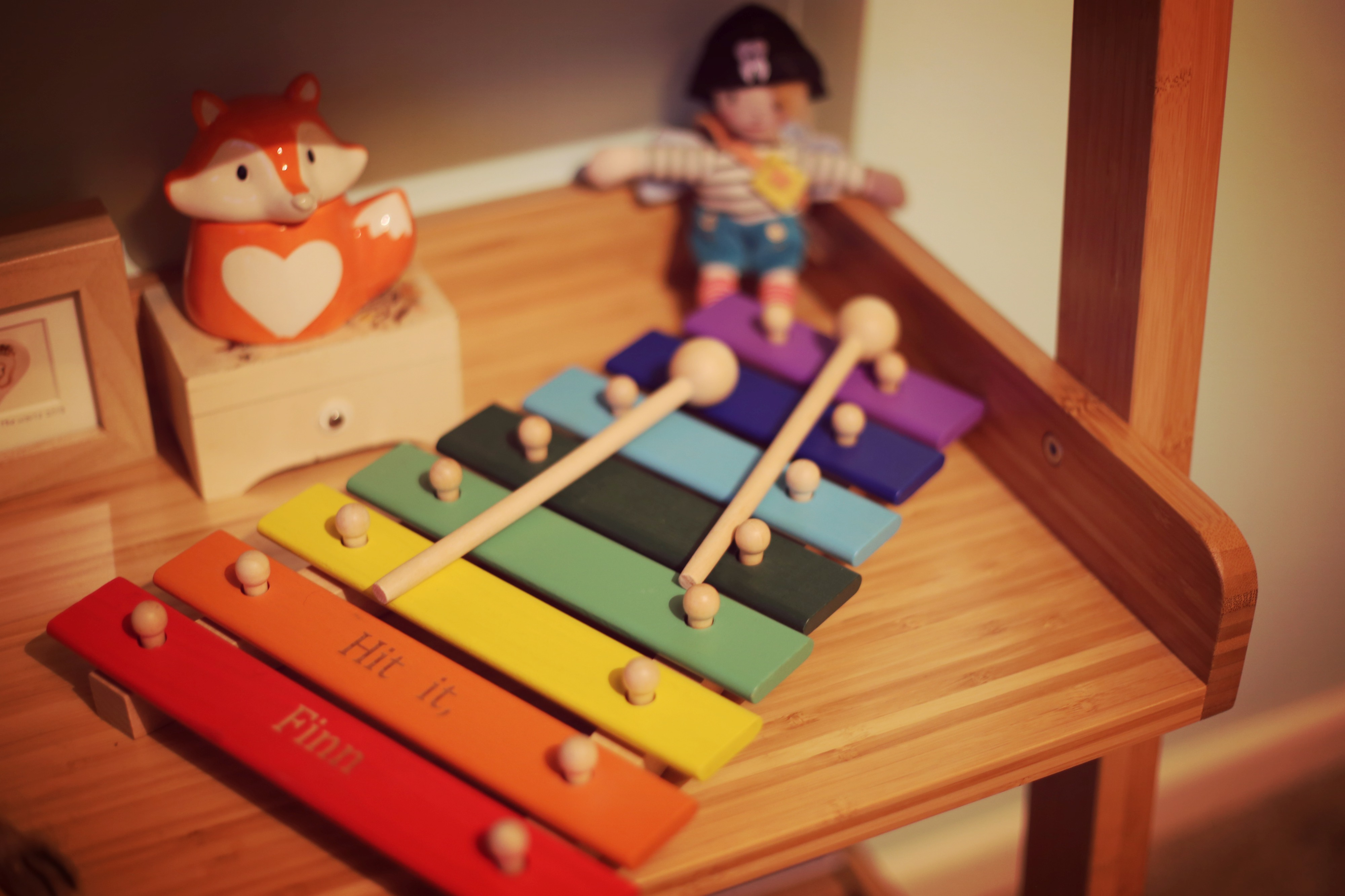 cute wooden baby toys