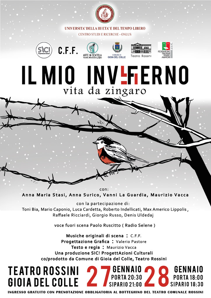 locandina spettacolo Il mio inv(f)erno_27-28 gennaio 2018