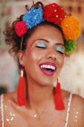 maquiagem carnaval 2