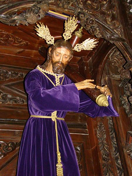 """Cofradía de Nº Padre Jesús Nazareno, María Santísima de los Dolores y Santísimo Cristo del Amor. """"Jesús Nazareno"""" (Dos Pasos)."""