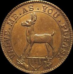 Robinson storecard copper obv