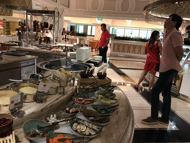 Medley Buffet, vietnamese food section